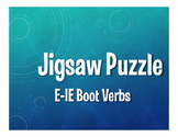 Spanish E-IE Boot Verb Jigsaw Puzzle