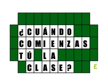 Spanish E-IE Boot Verb Wheel of Spanish
