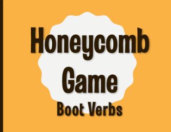 Spanish Boot Verb Honeycomb Partner Game