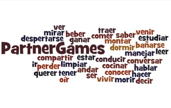 Spanish O-UE Boot Verb Partner Games
