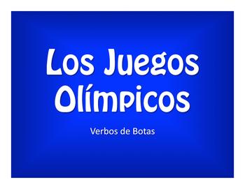 Spanish Boot Verb Olympics