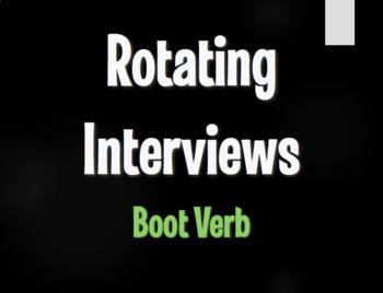 Spanish Boot Verb Rotating Interviews