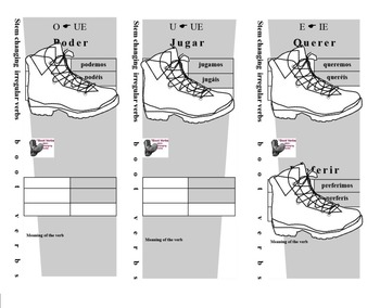 Boot Verb Study Aide