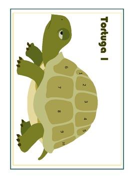 Boot Verbs Grammar Game:  Tortuga!