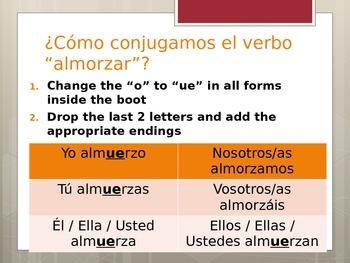Boot Verbs: O -- UE Notes