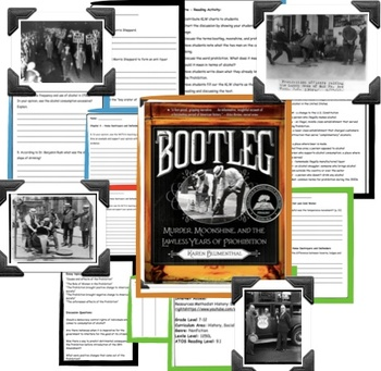 Bootleg: Murder, Moonshine, and the Lawless Years of Prohibition Novel GUide