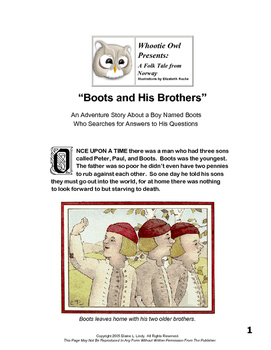 Boots and His Brothers Short Story Free