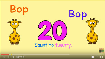 Bop Bop and count to 20