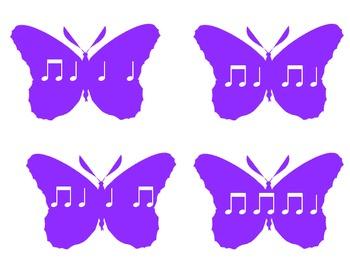 Bop the Butterfly: ta, titi, rest