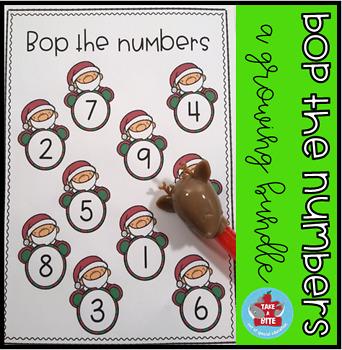 Bop the Numbers-a growing bundle