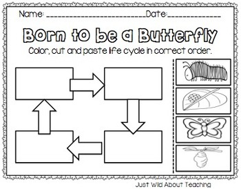 Bopping for Butterflies {butterfly unit with crafts & printabes}