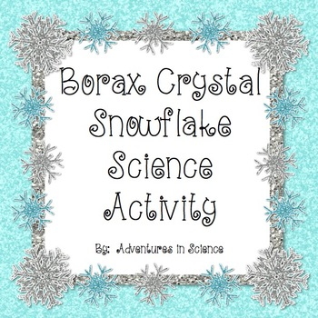 Borax Crystal Snowflake Science Activity