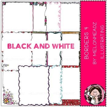 Melonheadz: Borders Part 4 - BLACK AND WHITE