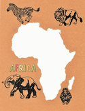 Border - Continent Africa 1