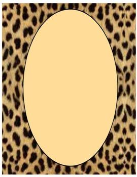 Border- Animal prints