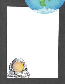 Border - Astronaut