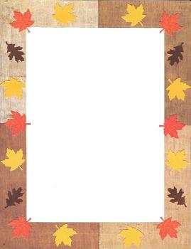 Border - Autumn 1