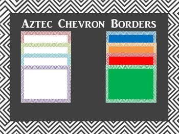 Border: Aztec Chevron