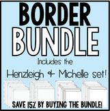 Borders BUNDLE!