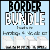 Borders BUNDLE!