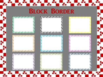 Border: Blocks