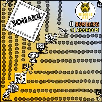 Border - Classroom (Square)
