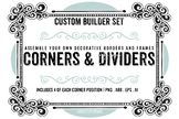 200+ Border ClipArt Images, Corners, Page dividers, Square