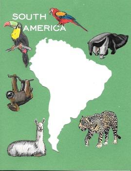 Border - Continent South America 2