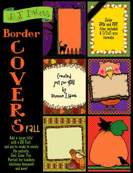 Border Covers Fall Clip Art Download