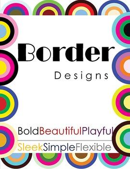 Border Designs - Clip Art