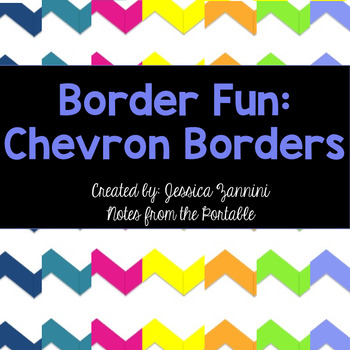 Border Fun: Chevron Papers