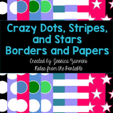 Border Fun: Crazy Dots and Stripes Borders