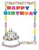 Border - Happy Birthday
