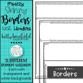 Border Hoarders Mostly Skinnies Borders