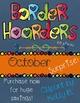 Border Hoarders October Bundle