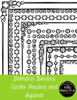 Geometric Borders Bundle