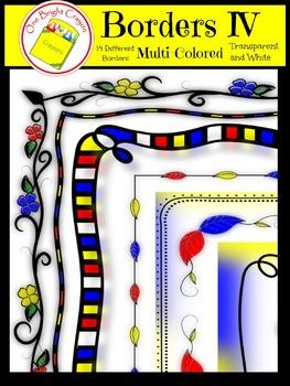 Border IV - Multi-Colored