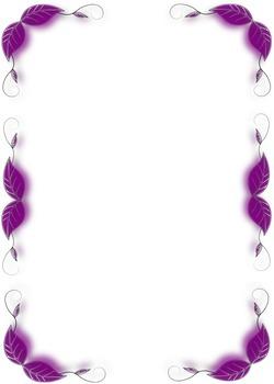 Border IV - Purple