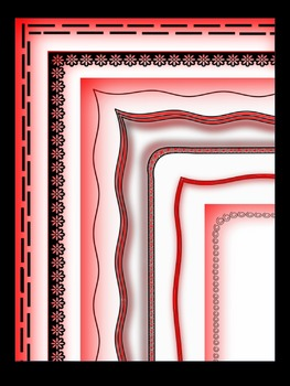 Border IV - Red