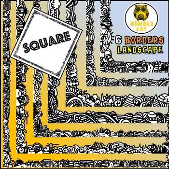 Border - Landscape (Square)