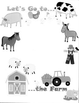 Border - Let's Go to the Farm