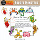 Border Monsters Clip Art