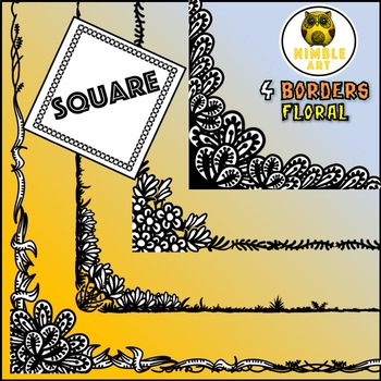 Border - Nature (Square)