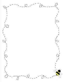 Bee Border Clipart