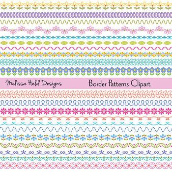 Clipart: Border Patterns Clip Art