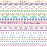 Decorative Border Patterns Clipart