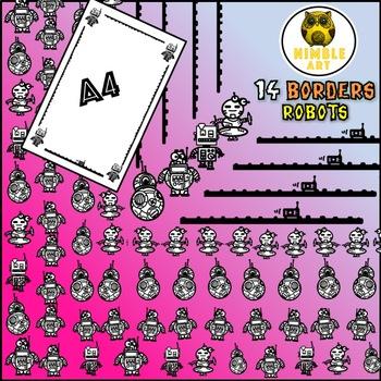 Border - Robot (A4)