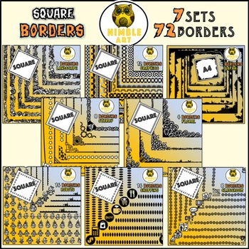 Border - Safari (Square)