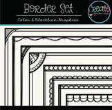 Border Set - Digital Clipart
