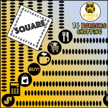 Border - Shopping (Square)
